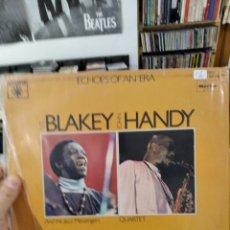 Discos de vinilo: LP DOBLE ART BLAKEY AND THE JAZZ MESSENGERS JOHN HANDY QUARTET MESSAGES VGVG+/VG++. Lote 240820965