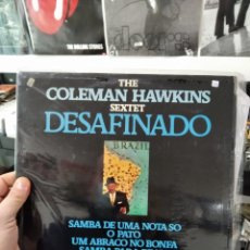 Discos de vinilo: LP COLEMAN HAWKINS SEXTET DESAFINADO VGVG+/VG++ IMPULSE. Lote 240824705