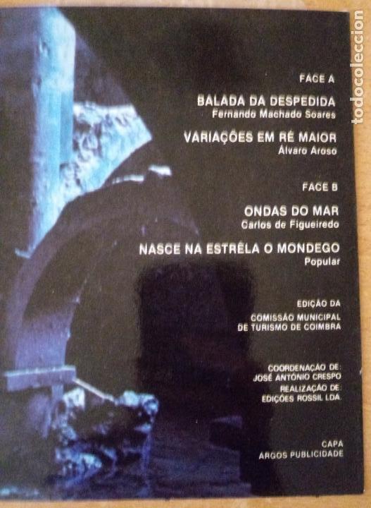 Discos de vinilo: COIMBRA TEM MAIS ENCANTO - BALADA DE DESPEDIDA - ONDAS DO MAR - Foto 4 - 240827895