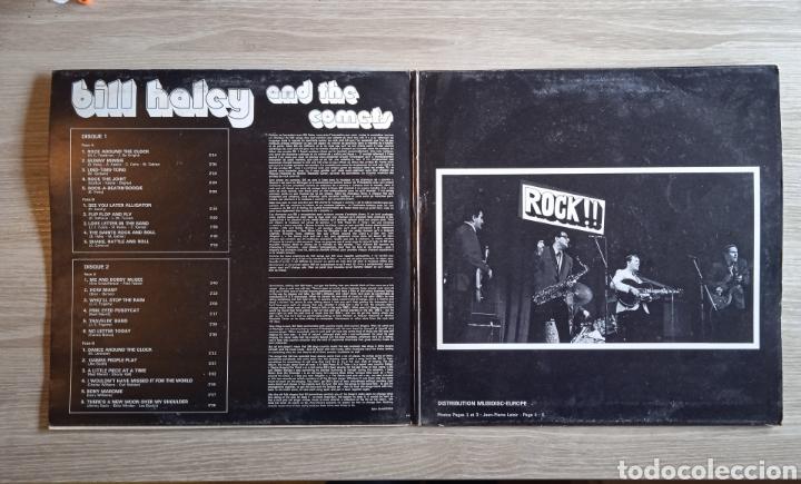 Discos de vinilo: Bill Haley And The Comets – The King Of Rock, Disques Festival – Album 137, 2 x Vinilo. France. - Foto 2 - 240825350