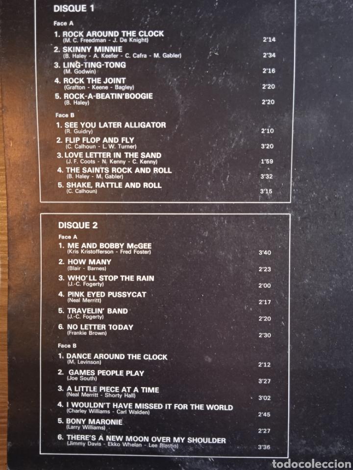 Discos de vinilo: Bill Haley And The Comets – The King Of Rock, Disques Festival – Album 137, 2 x Vinilo. France. - Foto 3 - 240825350