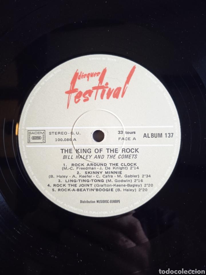 Discos de vinilo: Bill Haley And The Comets – The King Of Rock, Disques Festival – Album 137, 2 x Vinilo. France. - Foto 6 - 240825350