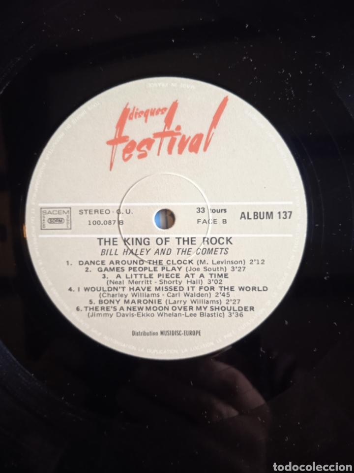 Discos de vinilo: Bill Haley And The Comets – The King Of Rock, Disques Festival – Album 137, 2 x Vinilo. France. - Foto 9 - 240825350