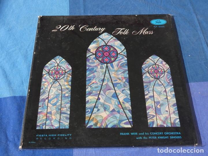 EXPRO GRUESO LP FOLK USA CIRCA 1964 20 TH CENTURY FOLK MASS ESTADO CORRECTISIMO (Música - Discos - LP Vinilo - Pop - Rock - Internacional de los 70)