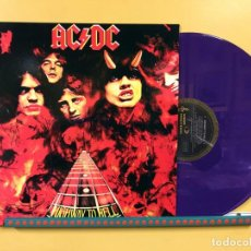 Dischi in vinile: AC/DC LP HIGHWAY TO HELL VINILO COLOR PURPURA EDICIÓN AUSTRALIANA PORTADA DISTINTA MUY RARO. Lote 254483665