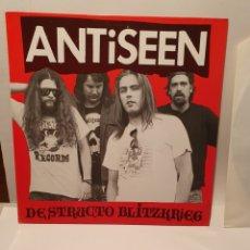 Discos de vinilo: ANTISEEN. DESTRUCTO BLITZKRIEG. ZUMA RECORDS. LP 1990.. Lote 240905110