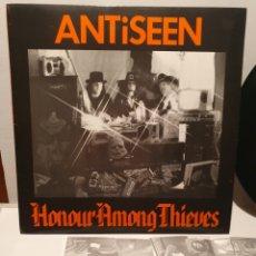 Discos de vinil: ANTISEEN. HONOUR AMONG THIEVES. BONA FIDE RECORDS. LP 1988.. Lote 240907775