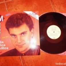 Discos de vinilo: MIJARES BAILA EN LOS PASILLOS REMIXES MAXI SINGLE VINILO CON SELLO PROMO MEXICO DEL AÑO 1987 4 TEMAS. Lote 240909100