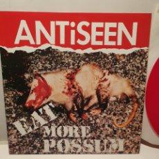 Discos de vinilo: ANTISEEN. EAT MORE POSSUM. ZUMA RECORDS. SAFE HOUSE. GEMA.. Lote 240909540