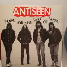 Discos de vinilo: ANTISEEN. NOISE FOR THE SAKE OF NOISE. DOG MEAT RECORDS. LP 1989. MADE IN AUSTRALIA.. Lote 240913495