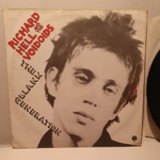 Discos de vinil: RICHARD HELL AND THE VOIDOIDS. THE BLANK GENERATION. SIRE. 1977.. Lote 240924870