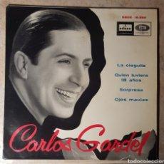 """Discos de vinilo: CARLOS GARDEL EMI-ODEON DSOE 16659 7"""" EP.. Lote 240935975"""
