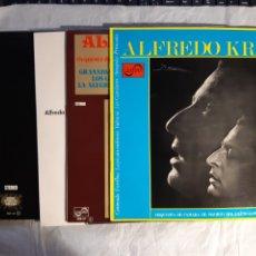 Discos de vinilo: 5 LPS DE ALFREDO KRAUS. Lote 240940195