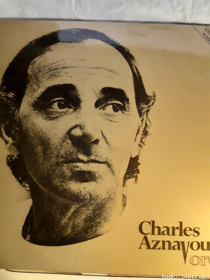 Discos de vinilo: 4 LPs DE CARLES AZNAVOUR - Foto 2 - 240940900