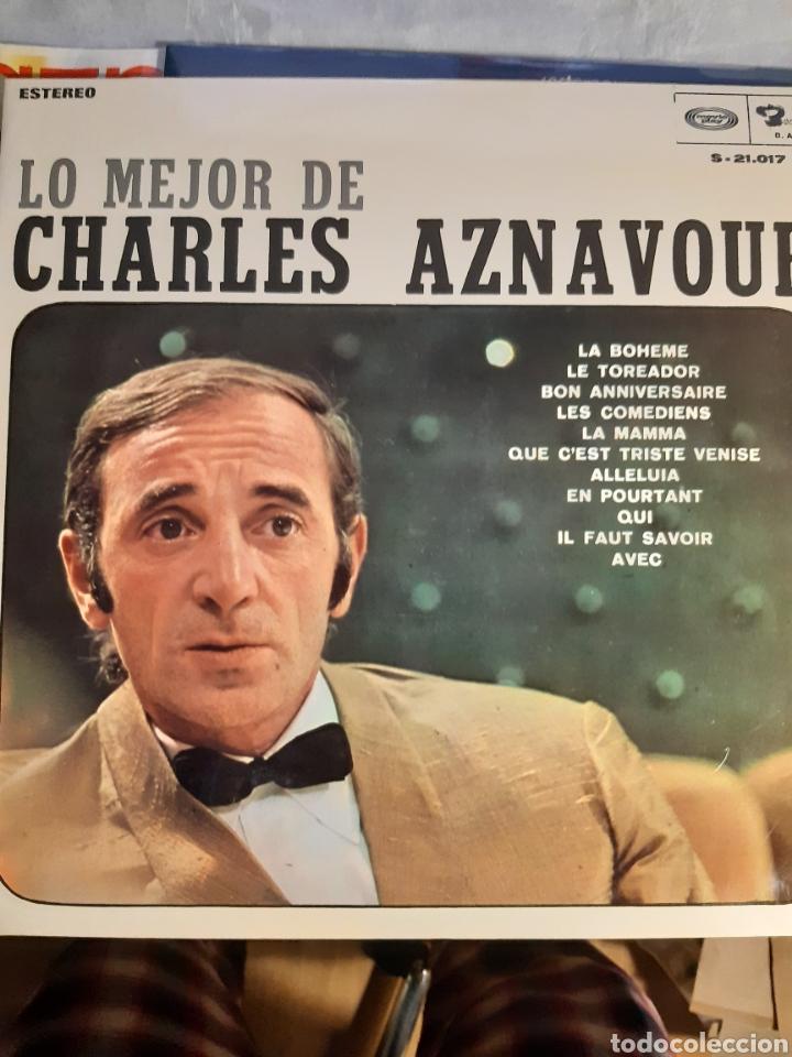 Discos de vinilo: 4 LPs DE CARLES AZNAVOUR - Foto 4 - 240940900