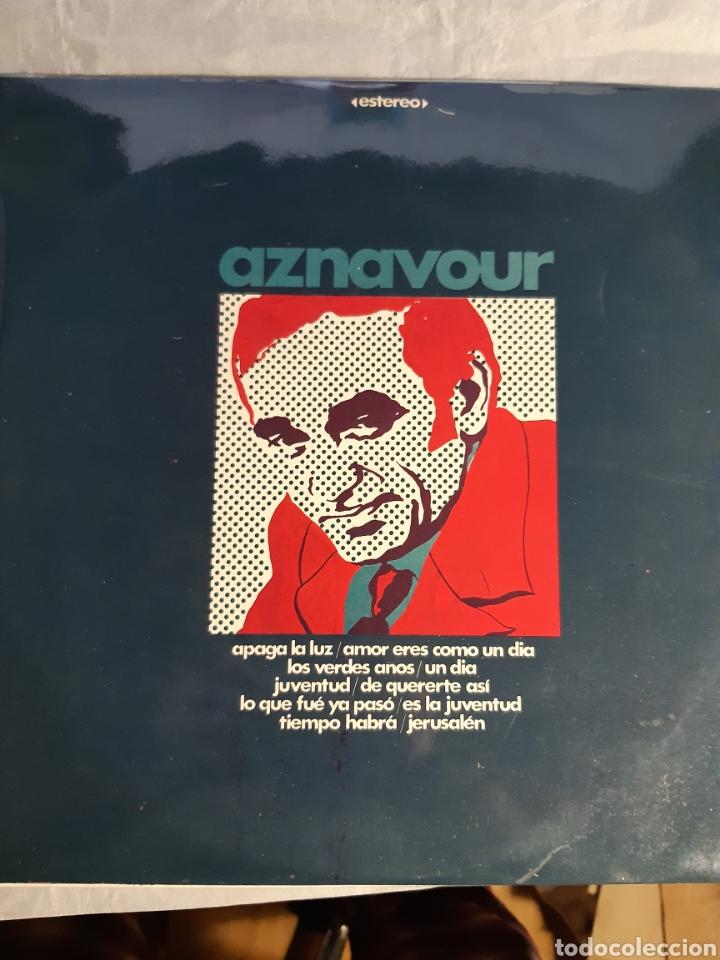 Discos de vinilo: 4 LPs DE CARLES AZNAVOUR - Foto 5 - 240940900