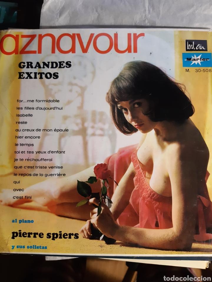 Discos de vinilo: 4 LPs DE CARLES AZNAVOUR - Foto 6 - 240940900