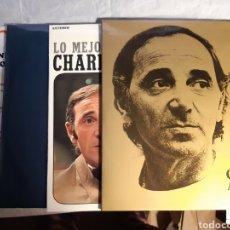 Discos de vinilo: 4 LPS DE CARLES AZNAVOUR. Lote 240940900