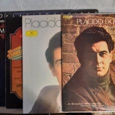 Discos de vinilo: 4 LPS DE PLACIDO DOMINGO. Lote 240941845