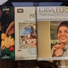 Discos de vinilo: 4 LPS DE LUISA FERNANDA. Lote 240943865