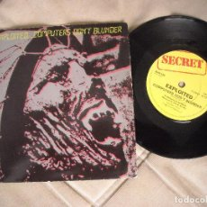Discos de vinilo: EP SINGLE THE EXPLOITED - 1ª EDICION ORIGINAL SECRET RECORDS 1982 - PUNK ROCK HARDCORE - ESKORBUTO. Lote 240952095