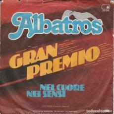 Discos de vinilo: 45 GIRI ALBATROS TOTO CUTUGNO NEL CUORE NEI SENSI /GRAN PREMIO METRONOME WEST GERMANY. Lote 240971805