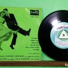 Discos de vinilo: EDDIE BARCLAY. NE JOUE PAS . EP 4CANCIONES CON TRICEN- LIMPIO ,TRATADO CON ALCOHOL ISOPROPÍLICO - AZ. Lote 240973560