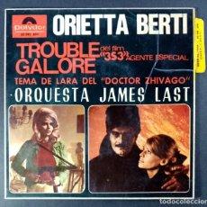 Discos de vinilo: ORIETTA BERTI - TROUBLE GALORE - EP 1966 - POLYDOR. Lote 240977920