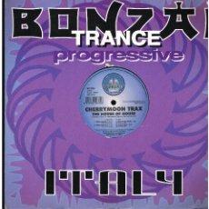 Discos de vinilo: CHERRYMOON TRAX - THE HOUSEOF HOUSE - MAXI SINGLE 1998 - ED. ITALIA. Lote 241003500