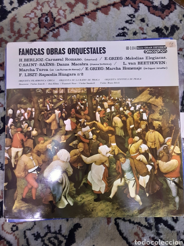 Discos de vinilo: FAMOSAS OBRAS ORQUESTALES LP VINYL MADE IN SPAIN 1965 - Foto 1 - 240999910