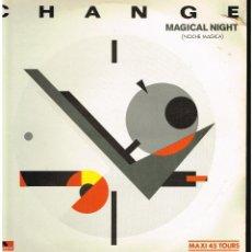 Dischi in vinile: CHAGE - MAGICAL NIGHT - MAXI SINGLE 1983 - ED. ESPAÑA. Lote 241006485