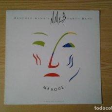 Discos de vinilo: MANFRED MANN'S EARTH BAND - MASQUE- LP 10 RECORDS 1987 ED. INGLESA DIX 69 MUY BUENAS CONDICIONES.. Lote 241012985