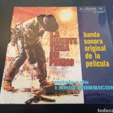 Disques de vinyle: LA MUERTE TENÍA UN PRECIO - BANDA SONORA ORIGINAL - ENNIO MORRICONE. Lote 241014615