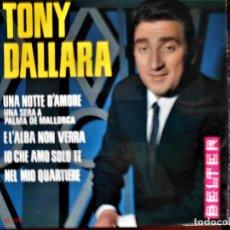 Discos de vinilo: TONY DALLARA. Lote 241018710