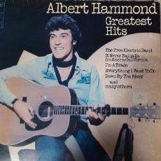 Discos de vinilo: ALBERT HAMMOND GREATEST HITS. Lote 241021825