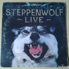 Discos de vinilo: STEPPENWOLF -LIVE STEPPENWOLF - DUNHILL ABC RECORDS 1972 ED. ORIGINAL AMERICANA DSD-50075 GATEFOLD S. Lote 241029025