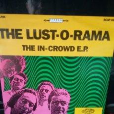Discos de vinilo: THE LUST-O-RAMA 1989 SCREAMING APPLE RECORDS. Lote 241042120