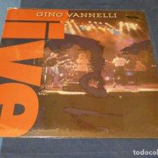 Disques de vinyle: EXPRO LP GINO VANNELLI LIVE 1991 RARO BUEN ESTADO. Lote 241070805