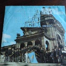 Discos de vinilo: BANDA INFANTIL DEL COLEGIO PADRE MAÑANET DE BARCELONA. Lote 241074415