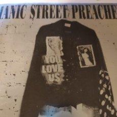 Discos de vinilo: MANIC STREET PREACHERS YOU LOVE US. Lote 241094350