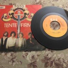 """Discos de vinilo: TOTO, VINILO 7"""" (TENTE FIRME). Lote 241102120"""