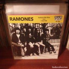 Disques de vinyle: RAMONES / CARBONA NOT GLUE / NOT ON LABEL. Lote 241105440