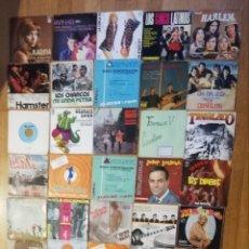 Discos de vinilo: LOTE 100 SINGLES DE POP ROCK ESPAÑOL AÑOS 60'S Y 70'S. Lote 241108155