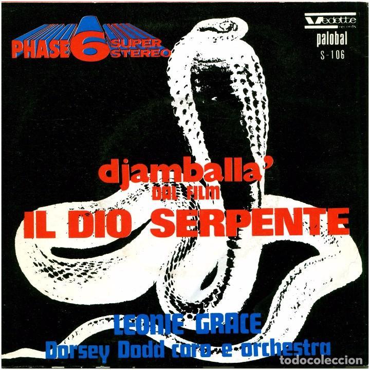 Discos de vinilo: Leonie Grace, Dorsey Dodd Coro E Orchestra - Sg Spain 1971 - Vedette/Palobal S-106 - Foto 2 - 241117990