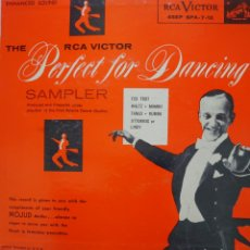 Discos de vinilo: PERFECT FOR DANCING EP SELLO RCA VÍCTOR EDITADO EN USA FRED ASTAIRE.... Lote 241130645