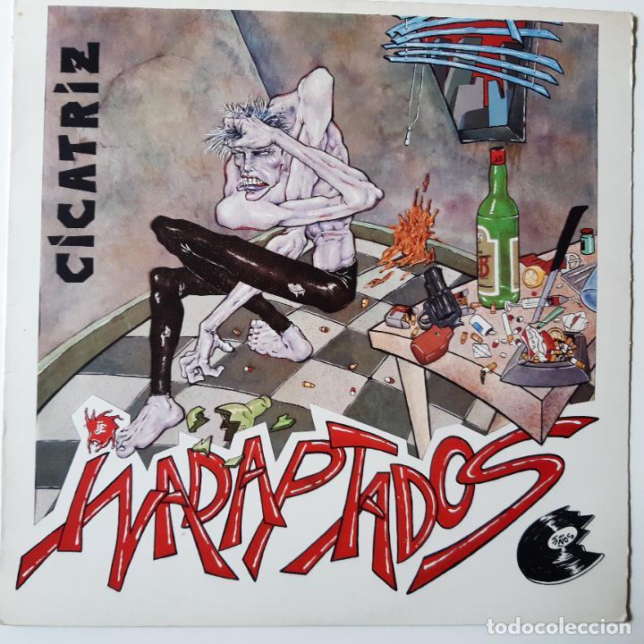 CICATRIZ - INADAPTADOS - LP 1986. (Música - Discos - LP Vinilo - Punk - Hard Core)