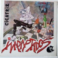 Discos de vinilo: CICATRIZ - INADAPTADOS - LP 1986.. Lote 256097880