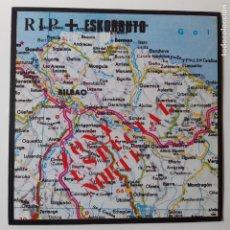 Discos de vinilo: RIP + ESKORBUTO - ZONA ESPECIAL NORTE - LP 1991 + INSERTO - VINILO EXC. ESTADO.. Lote 241179195