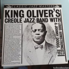 Discos de vinilo: KING OLIVER'S CREOLE JAZZ BAND WITH LOUIS ARMSTRONG & JOHNNY DODDS - 1923 (CLASSIC JAZZ, UK, 1983). Lote 241183885