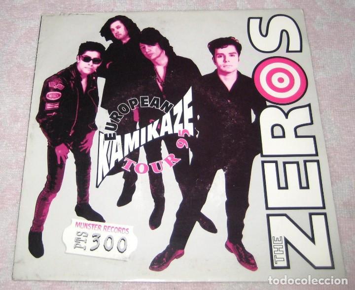 THE ZEROS - EUROPEAN KAMIKAZE TOUR 95 - MUNSTER 1995 (Música - Discos - Singles Vinilo - Punk - Hard Core)